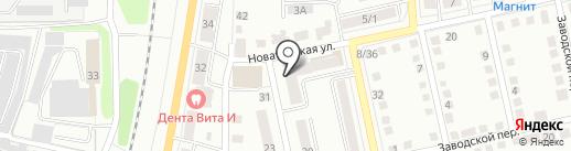 Позицион на карте Калуги