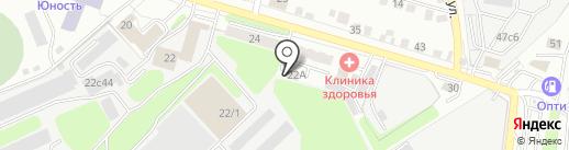 Электронные системы на карте Калуги