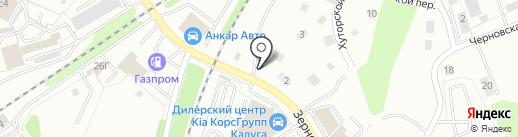 Магазин запчастей для иномарок на карте Калуги