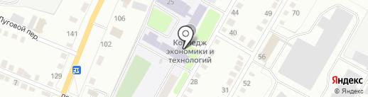 Калужский техникум современных технологий на карте Калуги