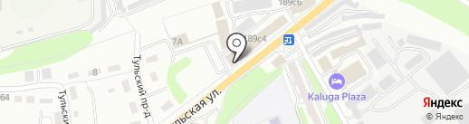 Магазин запчастей для автомобилей LADA на карте Калуги
