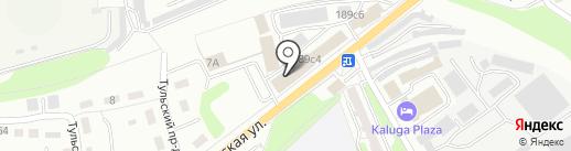 Магазин лепнины на карте Калуги