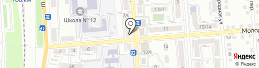 Эконом-бир на карте Калуги