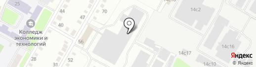 Торгово-монтажная компания на карте Калуги
