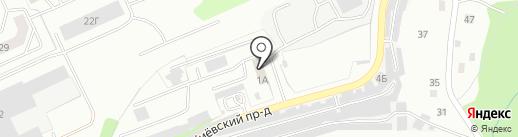 Motoclub40.ru на карте Калуги