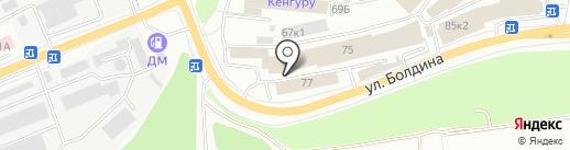 СуперБолт на карте Калуги