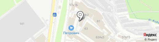 Автотехцентр на карте Калуги
