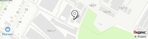 Гидротех на карте Калуги