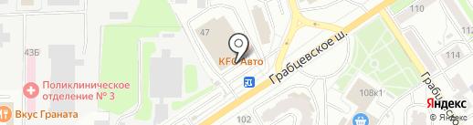 АТАК на карте Калуги