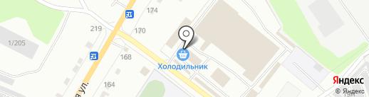 Магазин канцтоваров на карте Калуги