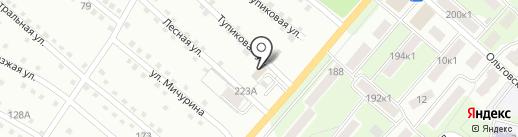 На Ольговке на карте Калуги