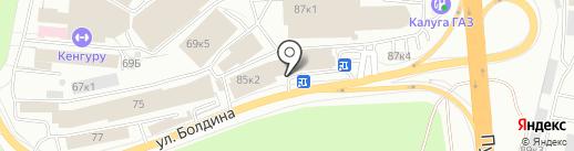 Магазин игрушек на карте Калуги