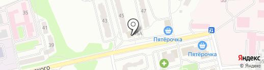 Пенное-отменное на карте Калуги