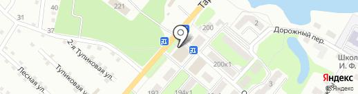 Магазин выпечки на карте Калуги