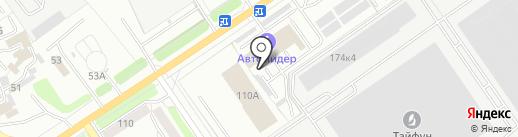 Овалон на карте Калуги