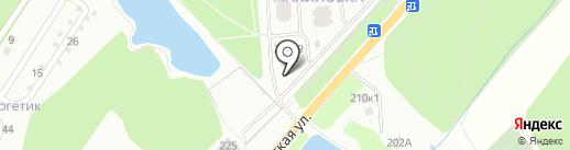 МАЛИНОВКА на карте Калуги