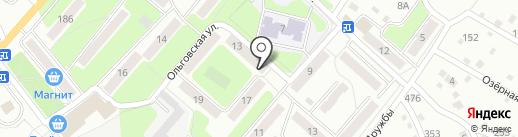 Сбербанк, ПАО на карте Калуги