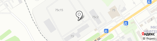 Научно-исследовательский и экспериментально-конструкторский институт тары и упаковки на карте Калуги