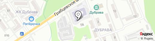 Средняя общеобразовательная школа №31 на карте Калуги