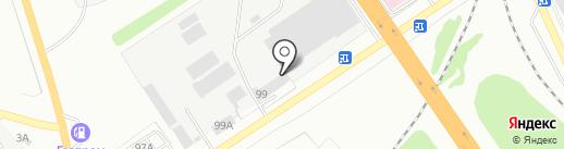 Тапко на карте Калуги