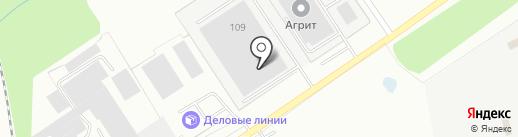 ДВС на карте Калуги