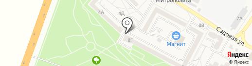 Славянка, ЗАО на карте Майского