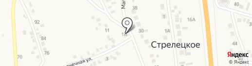 Продуктовый магазин на карте Стрелецкого