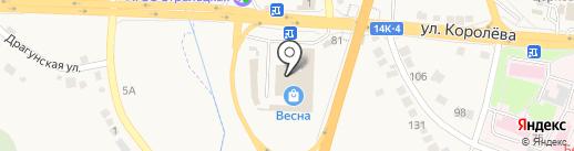 Магазин строительных материалов на карте Стрелецкого