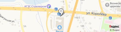 Банкомат, Сбербанк, ПАО на карте Стрелецкого