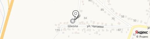 Стрелецкая начальная школа на карте Стрелецкого