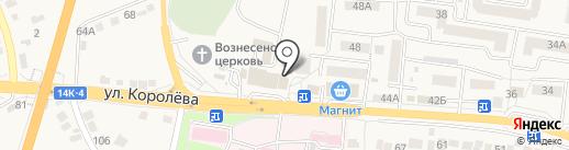 Магазин сантехники на карте Стрелецкого