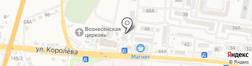 Стоматологический центр на карте Стрелецкого