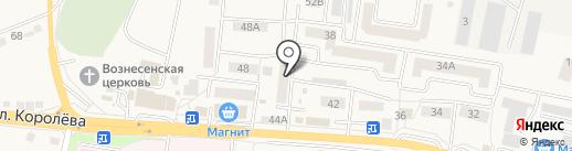 Почтовое отделение с. Стрелецкое на карте Стрелецкого