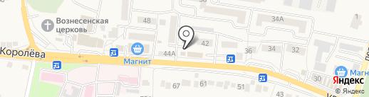 Руслан и Людмила на карте Стрелецкого