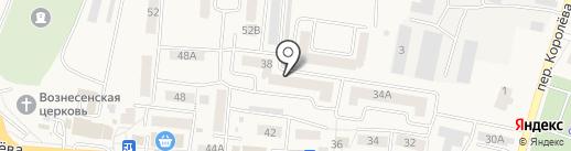 Нефертити на карте Стрелецкого