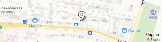 Санги Стиль на карте Стрелецкого