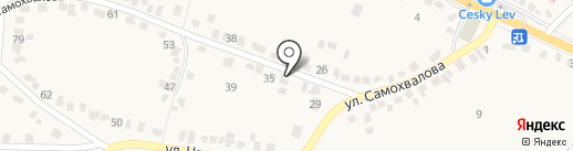Белка в Колесе на карте Стрелецкого