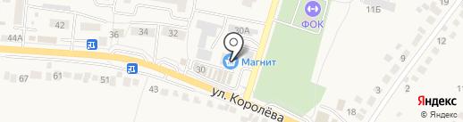 Магнит Косметик на карте Стрелецкого