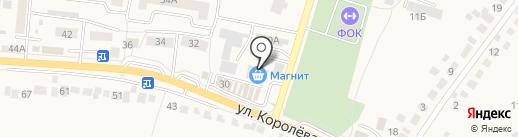 Магнит на карте Стрелецкого