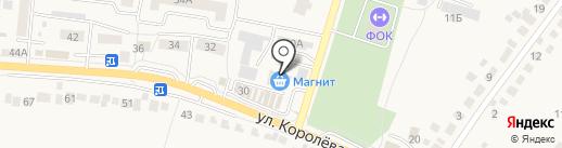 Любимая на карте Стрелецкого