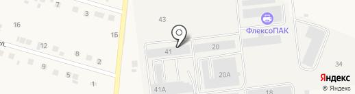 Стекольная компания Деловые Линии на карте Стрелецкого