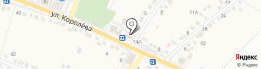 Есения на карте Стрелецкого
