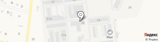 Квадратный метр на карте Стрелецкого