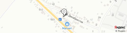 Красное & Белое на карте Белгорода