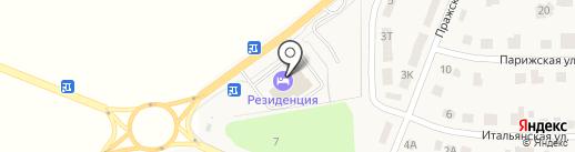 Резиденция на карте Репного