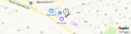 Кавказская пленница на карте Дубового
