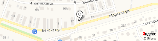 Парус на карте Репного