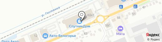 Аквамагазин Чистая вода на карте Белгорода