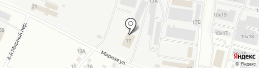 Ирбис-Эком на карте Белгорода