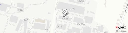 Компания Эдельвейс на карте Белгорода